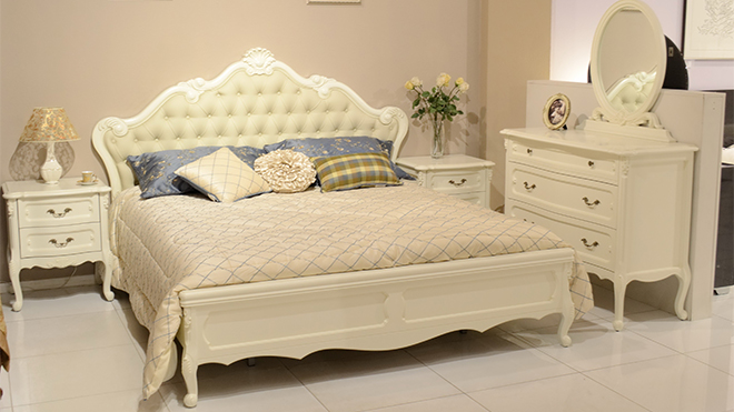 Anabel bedroom set in a new finish color